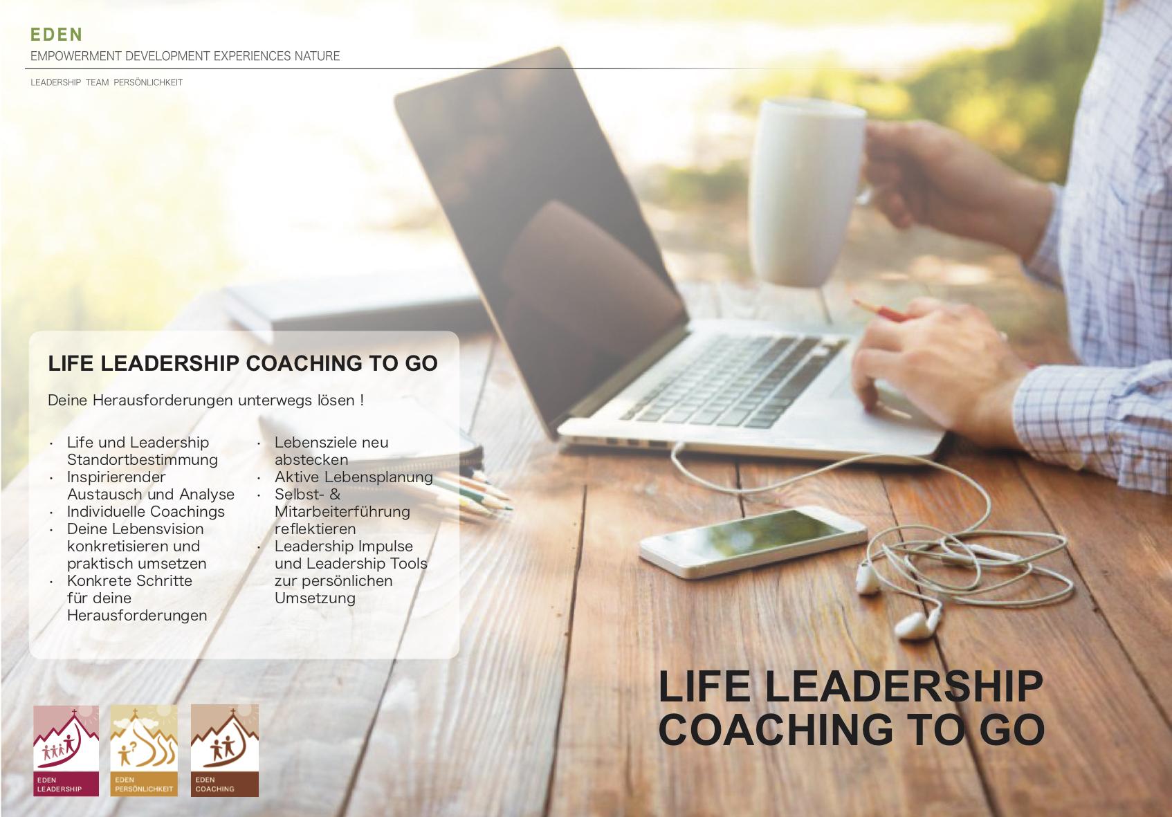 Life Leadership coaching togo Flyer Kopie